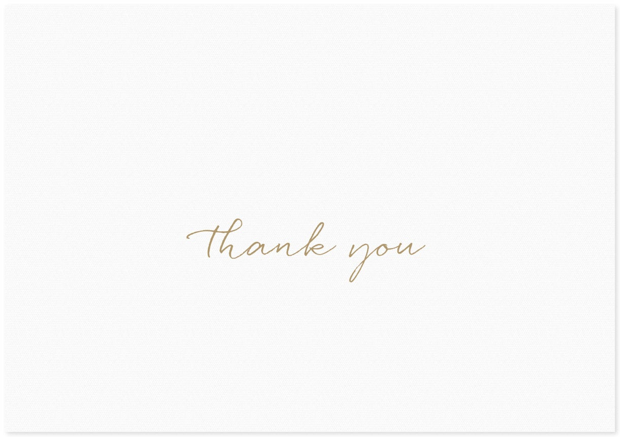 Image of Thank You | Cursive