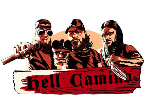 Image of Hell Camino Redd VoodooT-Shirt