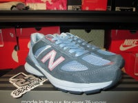 "New Balance 990 ""University Blue/Suede"" WMNS - areaGS - KIDS SIZE ONLY"