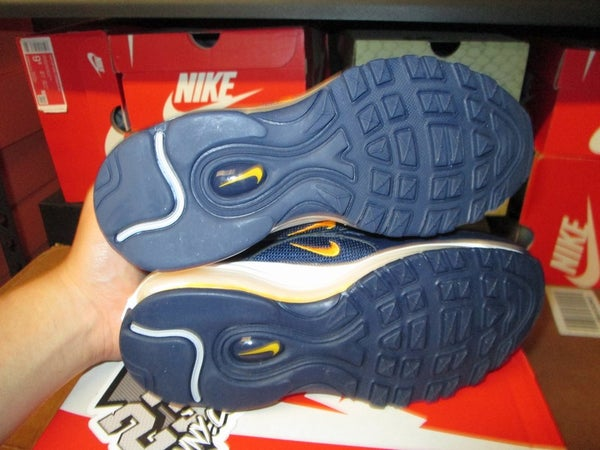 "Air Max 97 ""Midnight Navy/Laser Orange"" GS - areaGS - KIDS SIZE ONLY"