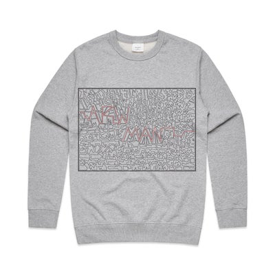 Image of   A (mazed) Crew Jumper