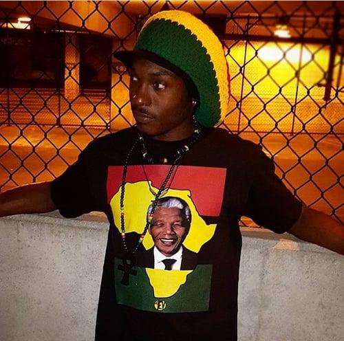 """Image of MANDELA """"4EV"""" (BLACK)"""