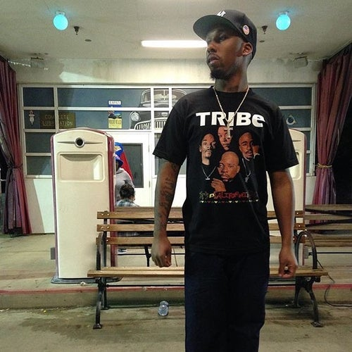 """Image of DEATH ROW's FINEST """"TRIBE"""" (BLACK)"""