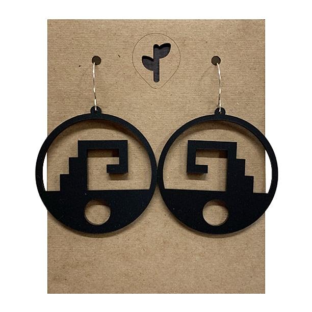 Image of chimalli II / acrylic / black