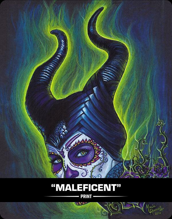 MALEFICENT (SUAGR SIN)  - PRINT