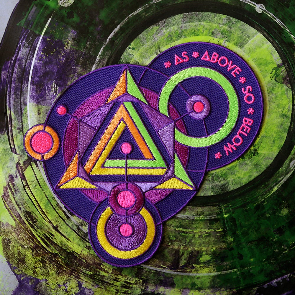 Image of As Above So Below Patch