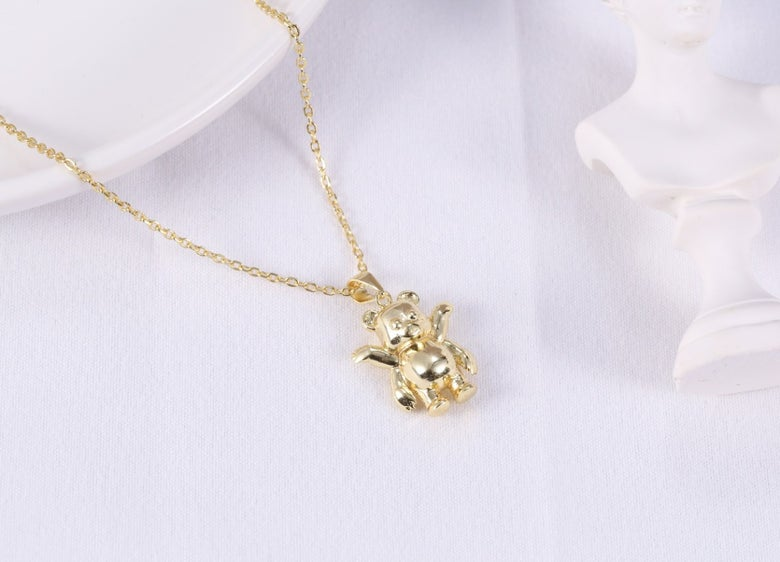 Image of 18k Gold Plated Pendant.