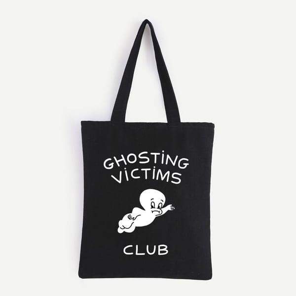 Image of GHOSTING CLUB TOTE BAG