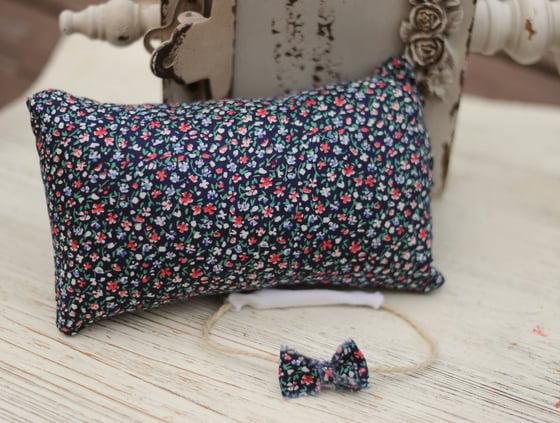 Image of Vintage pillow set (blue)