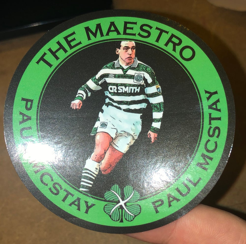 Paul McStay Stickers