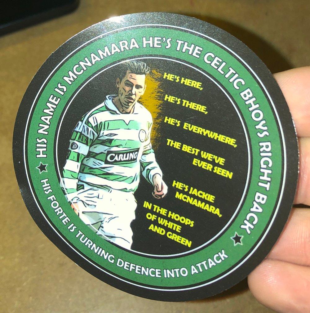 Jackie McNamara Stickers