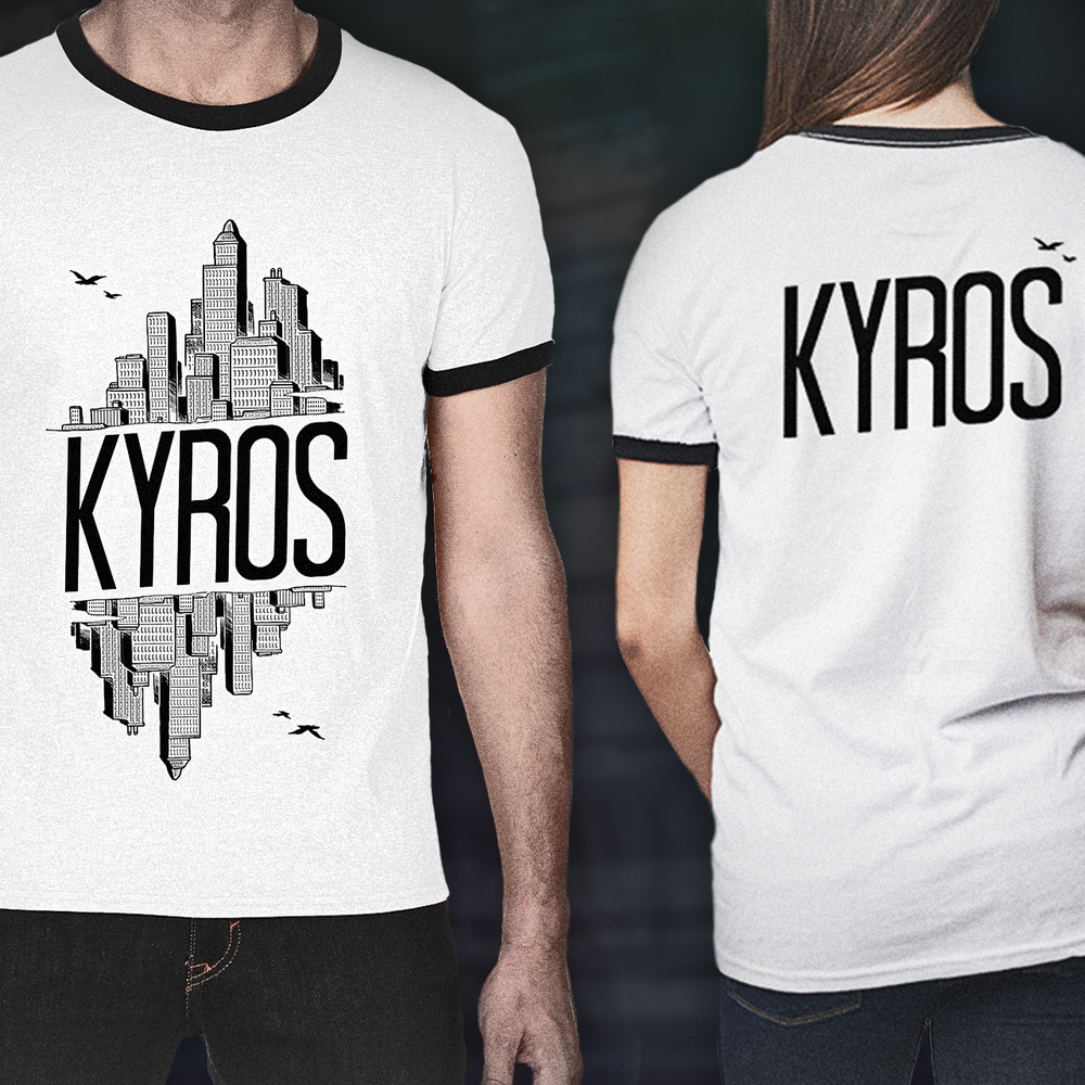 Image of KYROS - Skyline Tee - White
