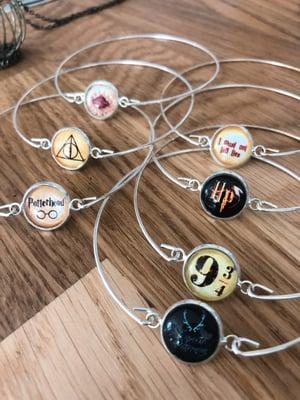 Image of Vif d'or black montre collier Harry Potter
