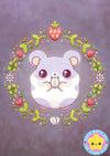 Kawaii Hamster A5 Print