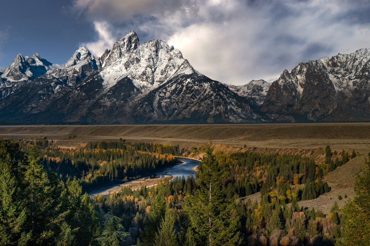 Image of Grand Teton & Snake River