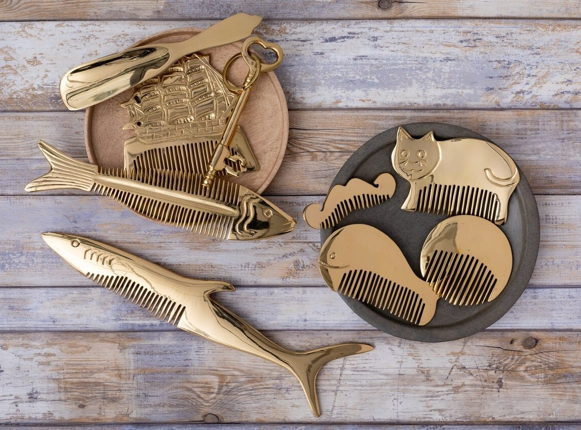 Image of Brass Combs