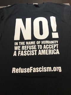 Image of In the Name of Humanity We Refuse to Accept a Fascist America