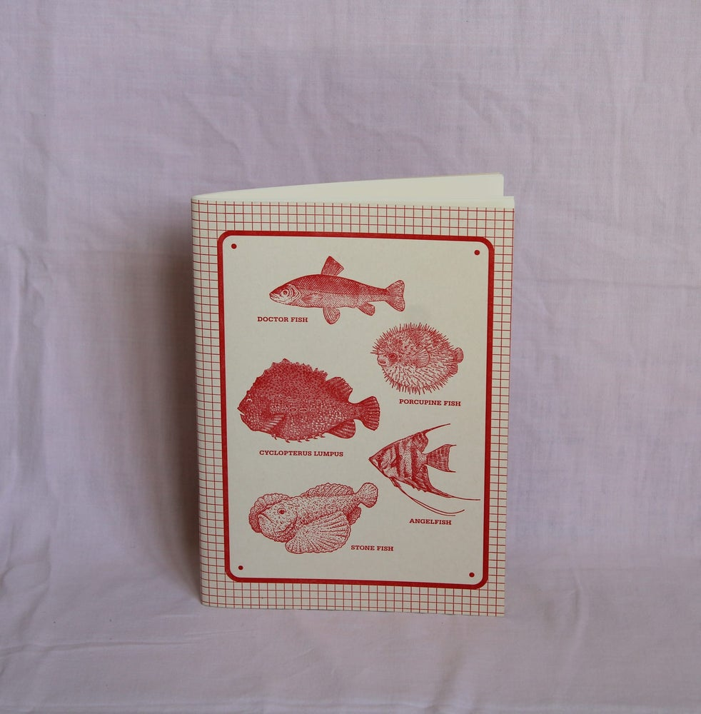 Image of Cuaderno Peces
