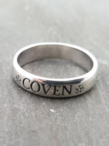 Image of COVEN Sterling Silver Ring