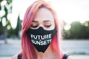 Image of Face Mask (WineKitty & FutureSunsets )