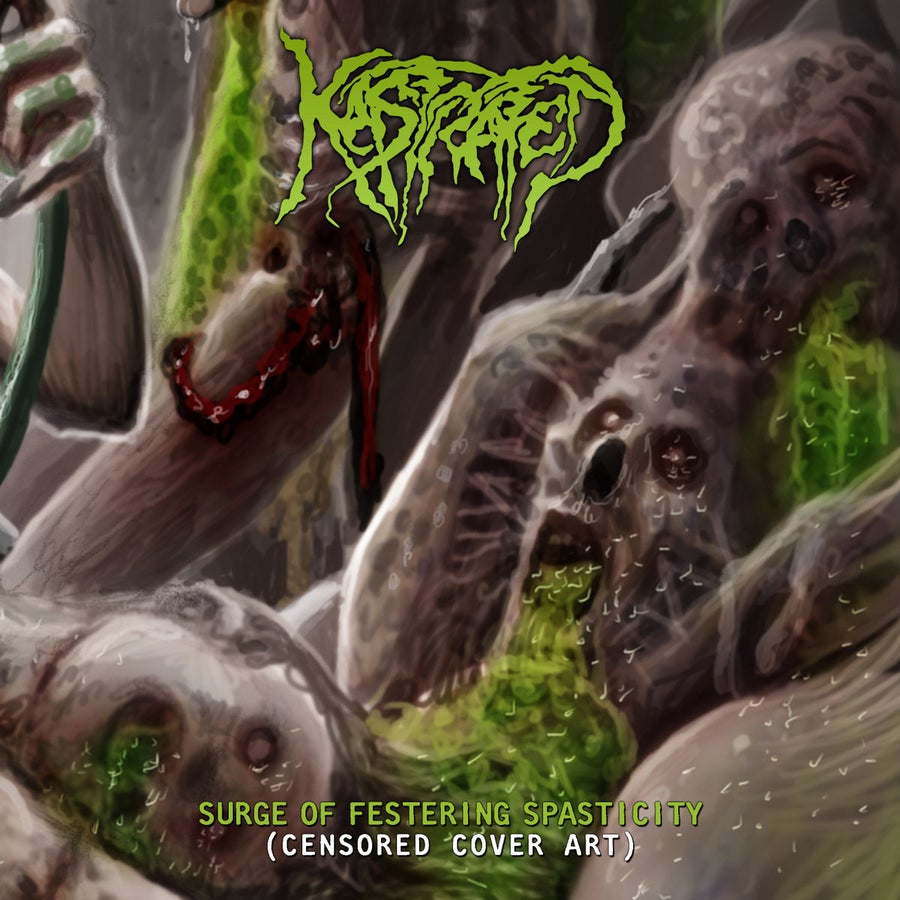 Image of Kastrated - Surge Of Festering Spasticity - Jewel Case CD