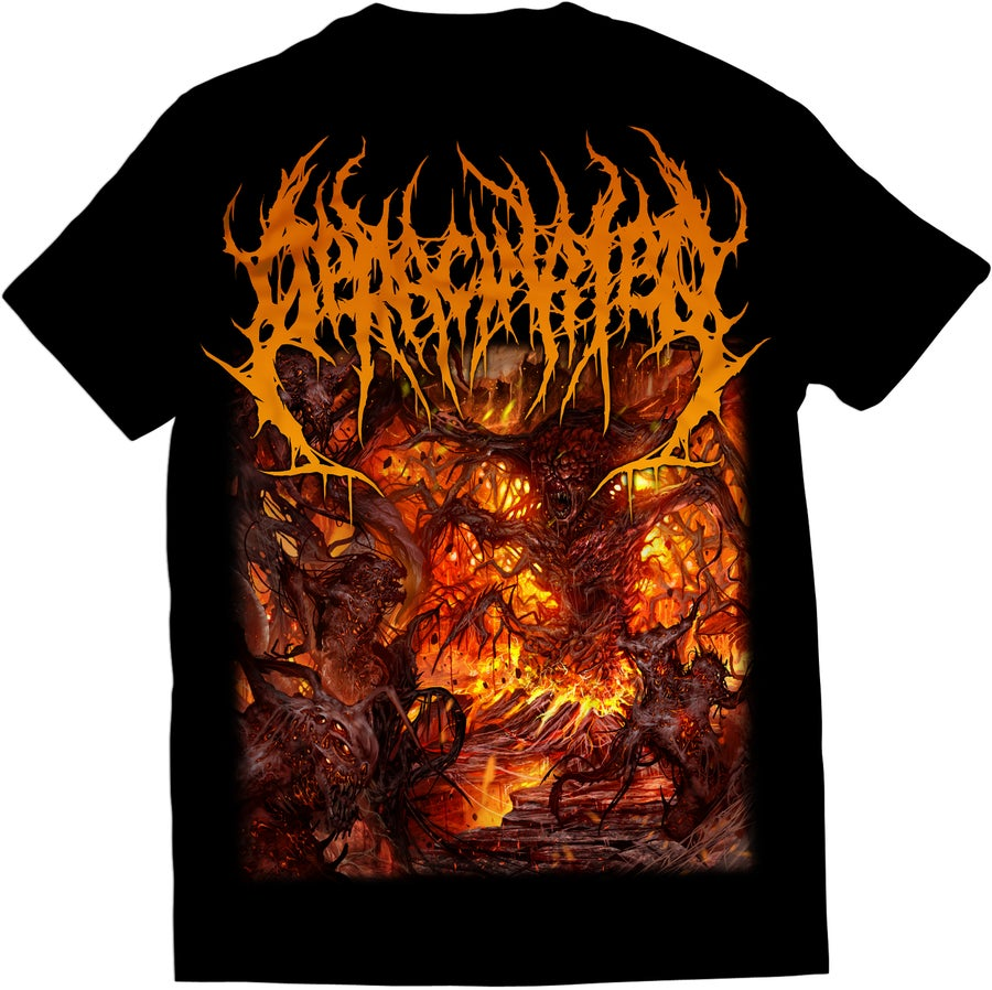 Image of Deracinated - Adoration Of Decaying Carrion - T-Shirt
