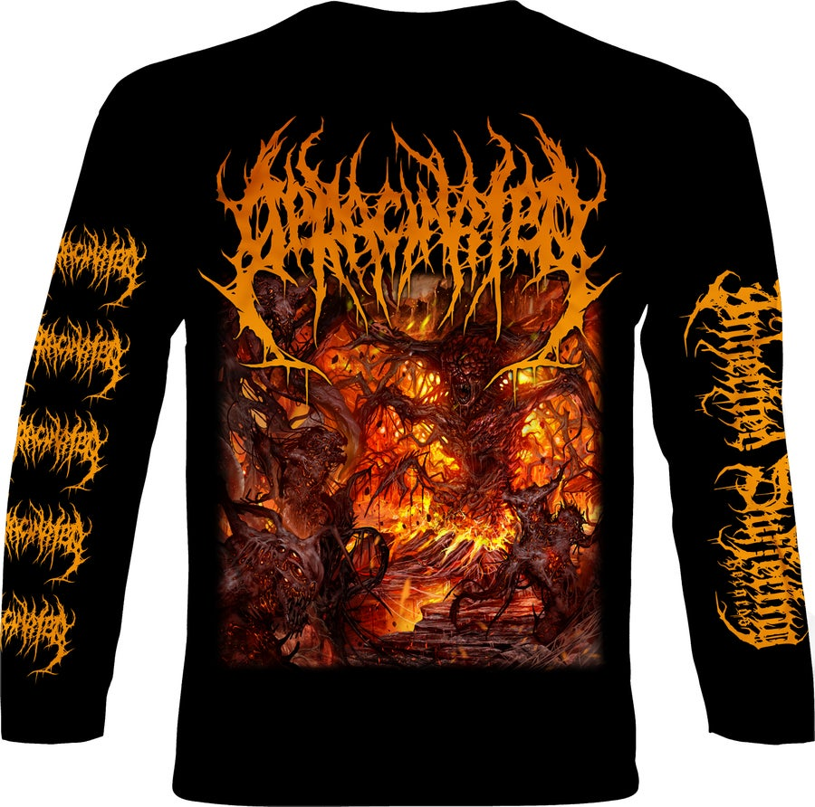 Image of Deracinated - Adoration Of Decaying Carrion - Longsleeve T-Shirt
