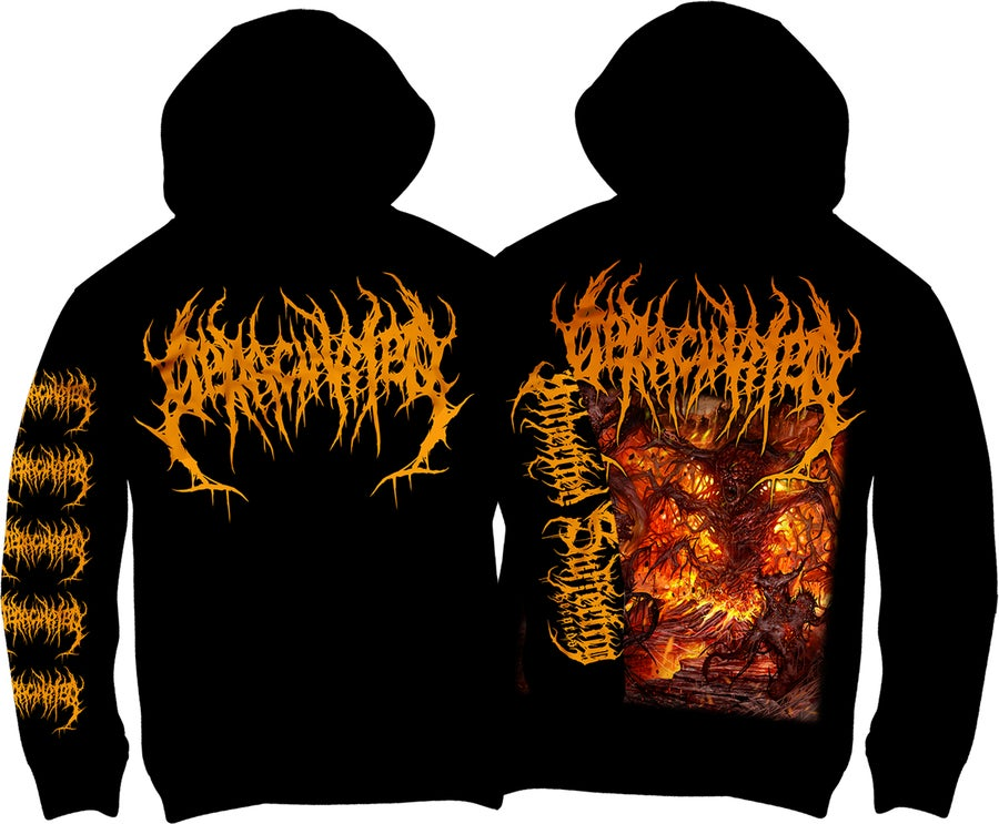 Image of Deracinated - Adoration Of Decaying Carrion - Hoodie