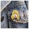 Taylor Swift Face Enamel Pin