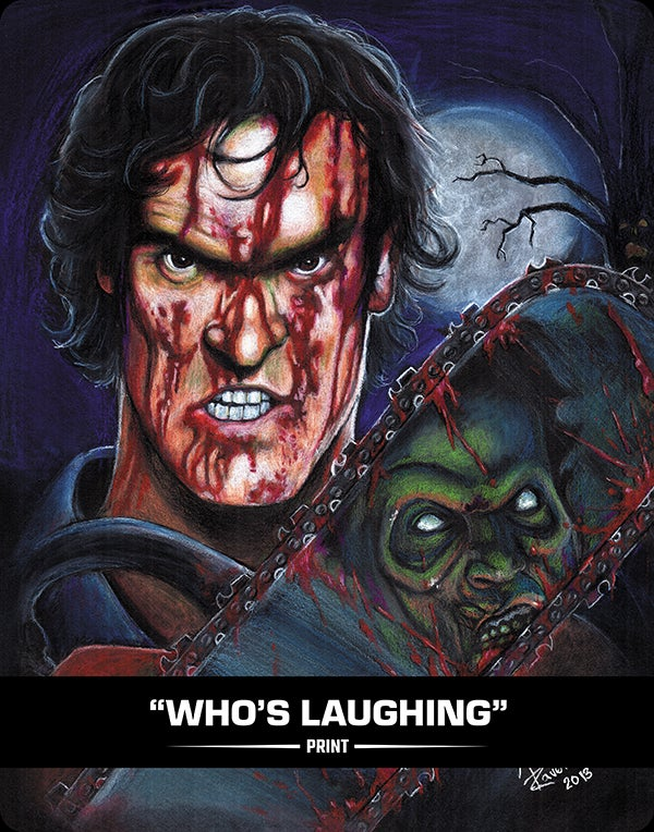 WHO'S LAUGHING - PRINT