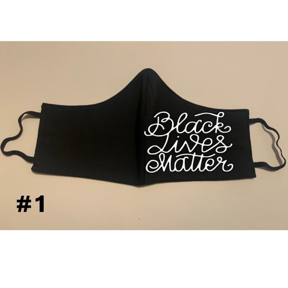 Image of FACE MASKS - BLACK LIVES MATTER