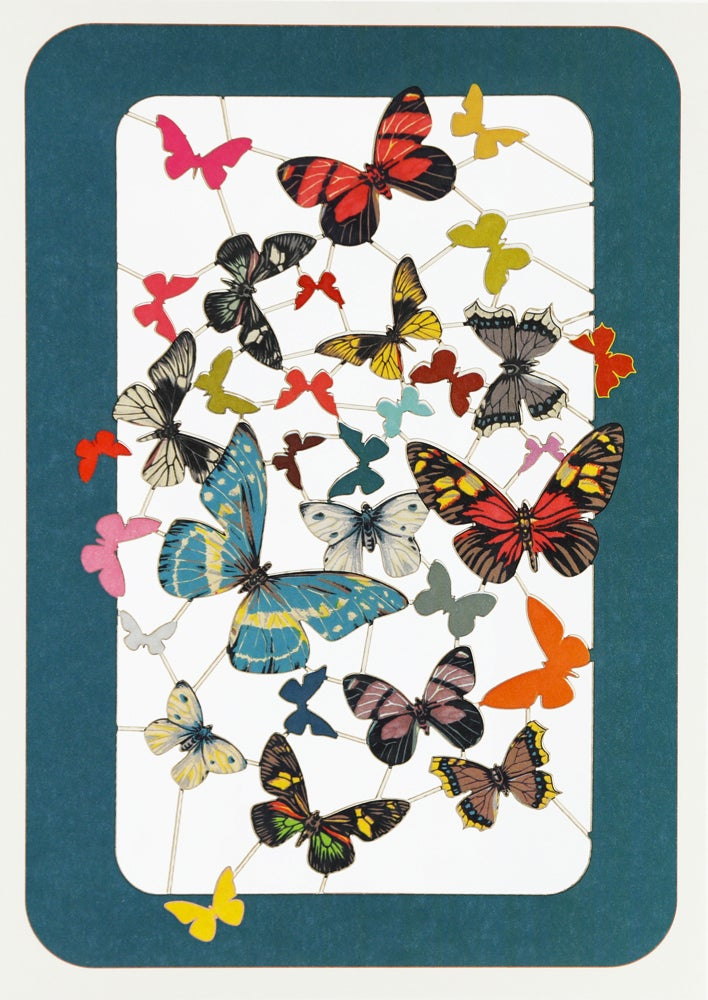 Image of Butterfly Paper Cut Card