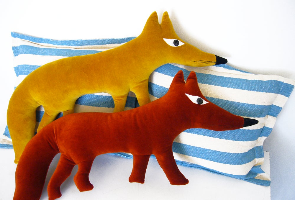 Image of Small Fox Cushion