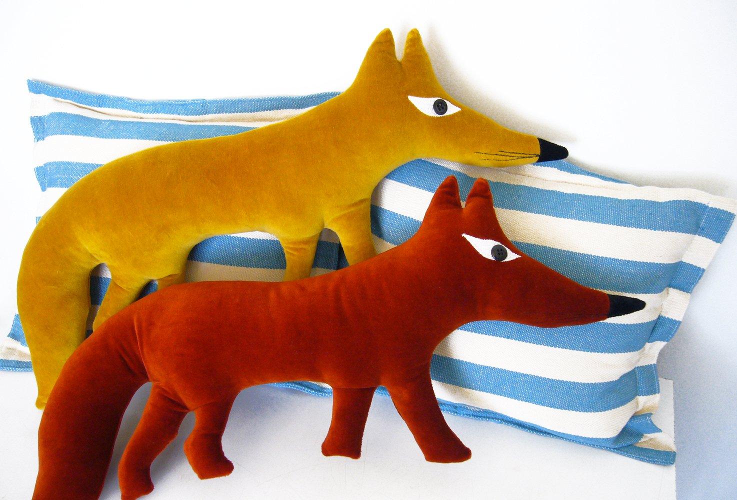 Image of Small Fox Cushion