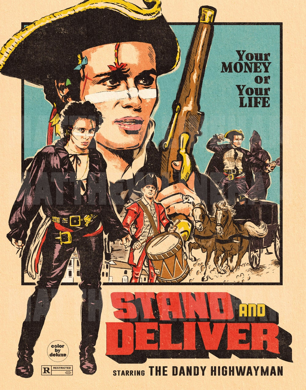 Stand And Deliver Art Print