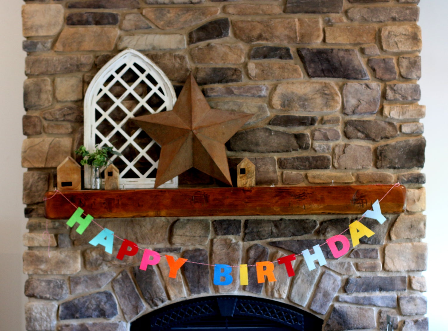 Image of Reusable Felt Birthday Banners | 3 Styles