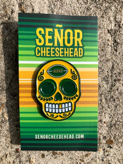 Image of Day of the Chedd  Enamel Pin