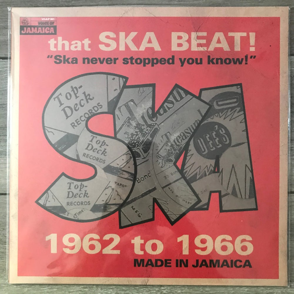 Image of Skatalites - That Ska Beat! Ska Never Stopped You Know! 1962-1966	Vinyl LP