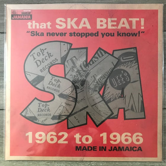 Image of Various - That Ska Beat! Ska Never Stopped You Know! 1962-1966	Vinyl LP