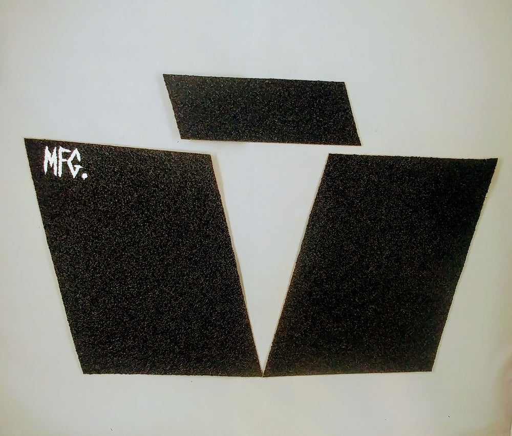 Image of Black Slabs GRIPTAPE for Mountainboards