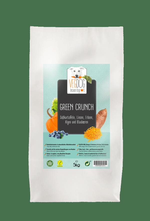 Image of Vegdog Green chrunch 2 kg
