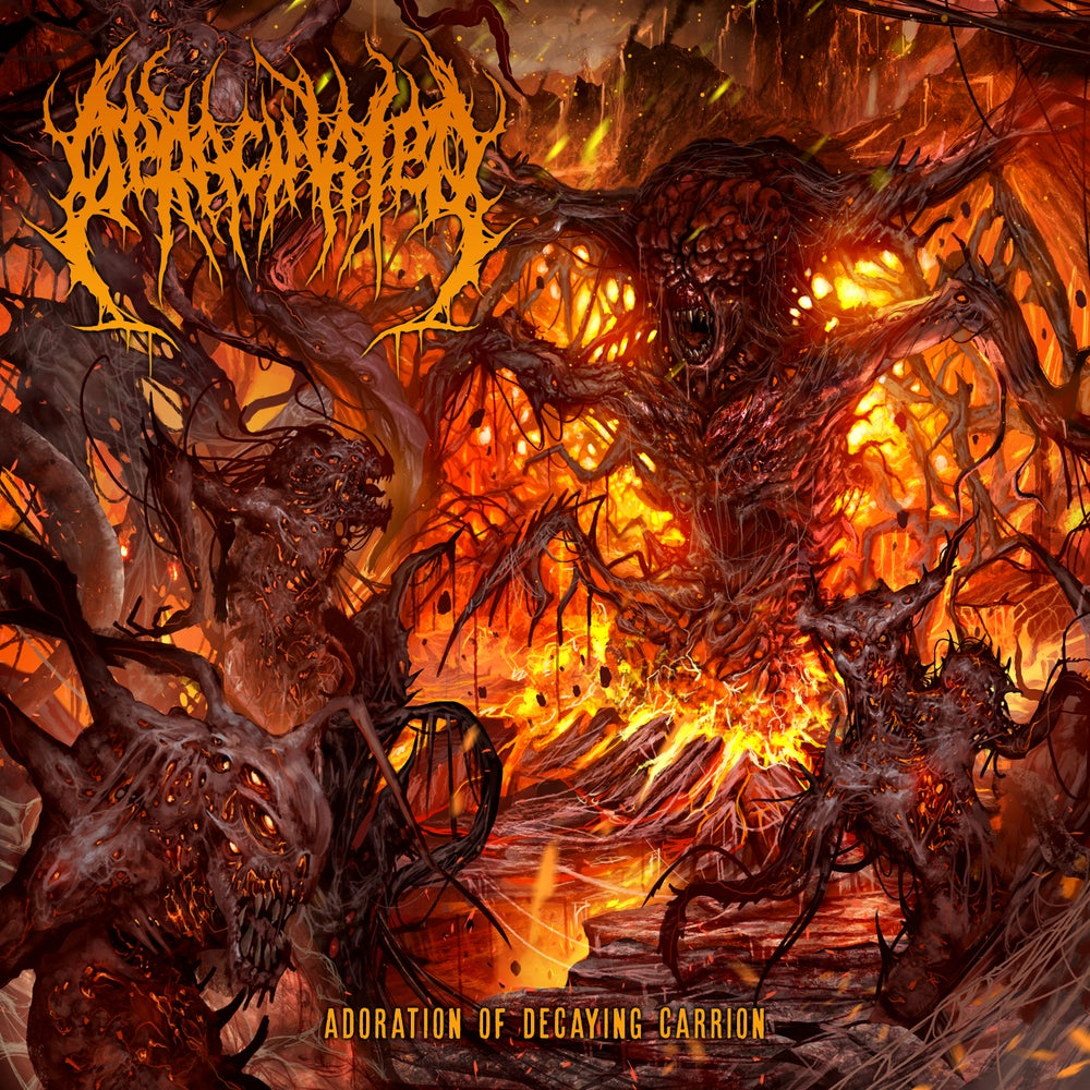 Image of Deracinated - Adoration Of Decaying Carrion - Jewel Case CD