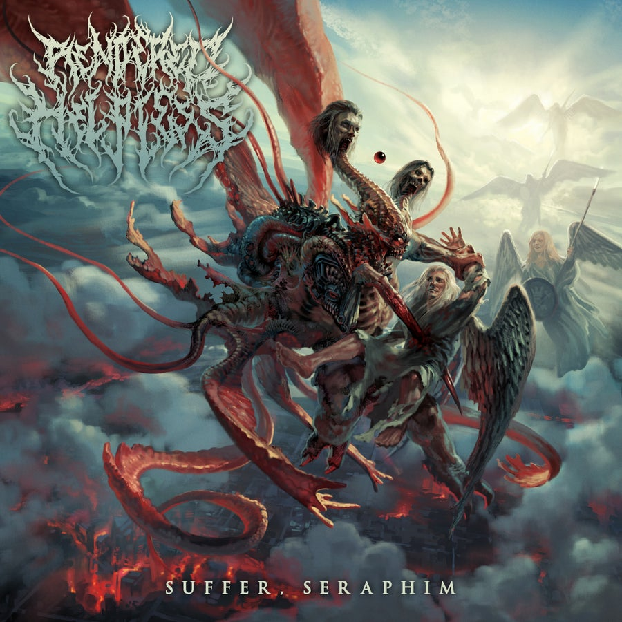 Image of Rendered Helpless - Suffer, Seraphim - Jewel Case CD