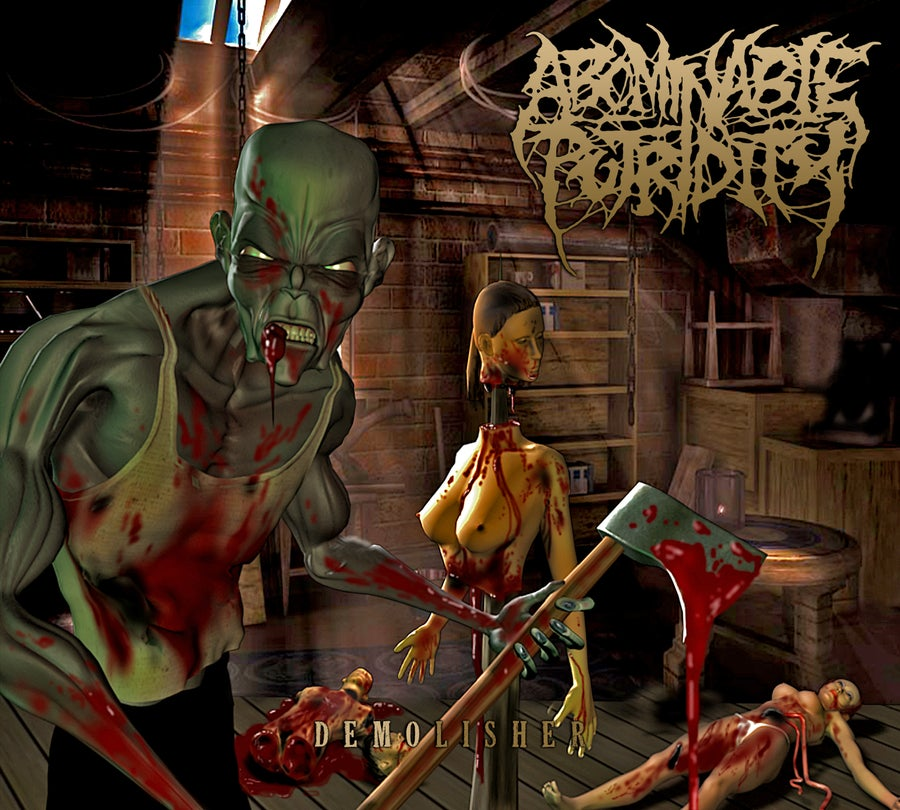 Image of Abominable Putridity - Demolisher - Limited Digipack CD
