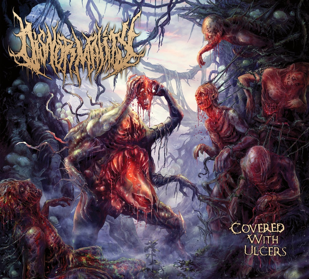 Image of Disnormality - Covered With Ulcers - Limited Digipack CD
