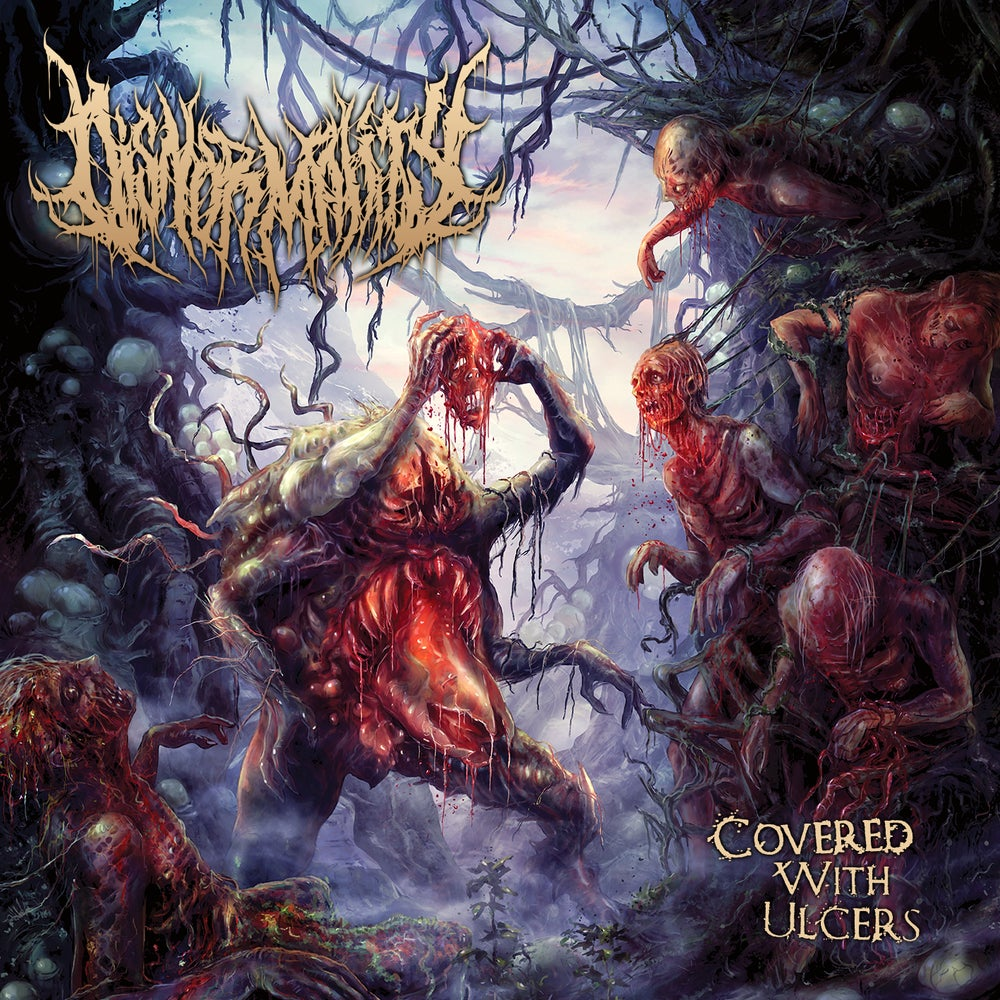 Image of Disnormality - Covered With Ulcers - Jewel Case CD