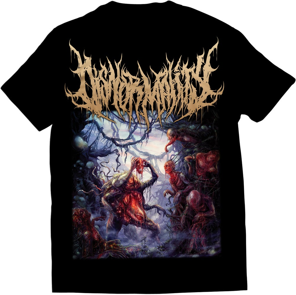 Image of Disnormality - Covered With Ulcers - T-Shirt
