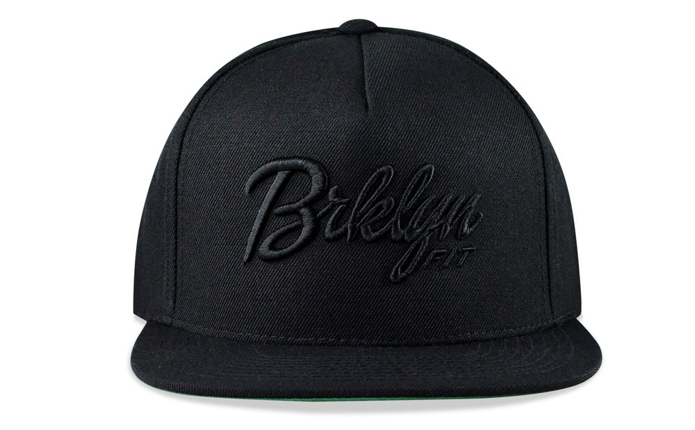 Image of BRKLYN FIT® LOGO - 3D (BLACK) - SNAPBACK