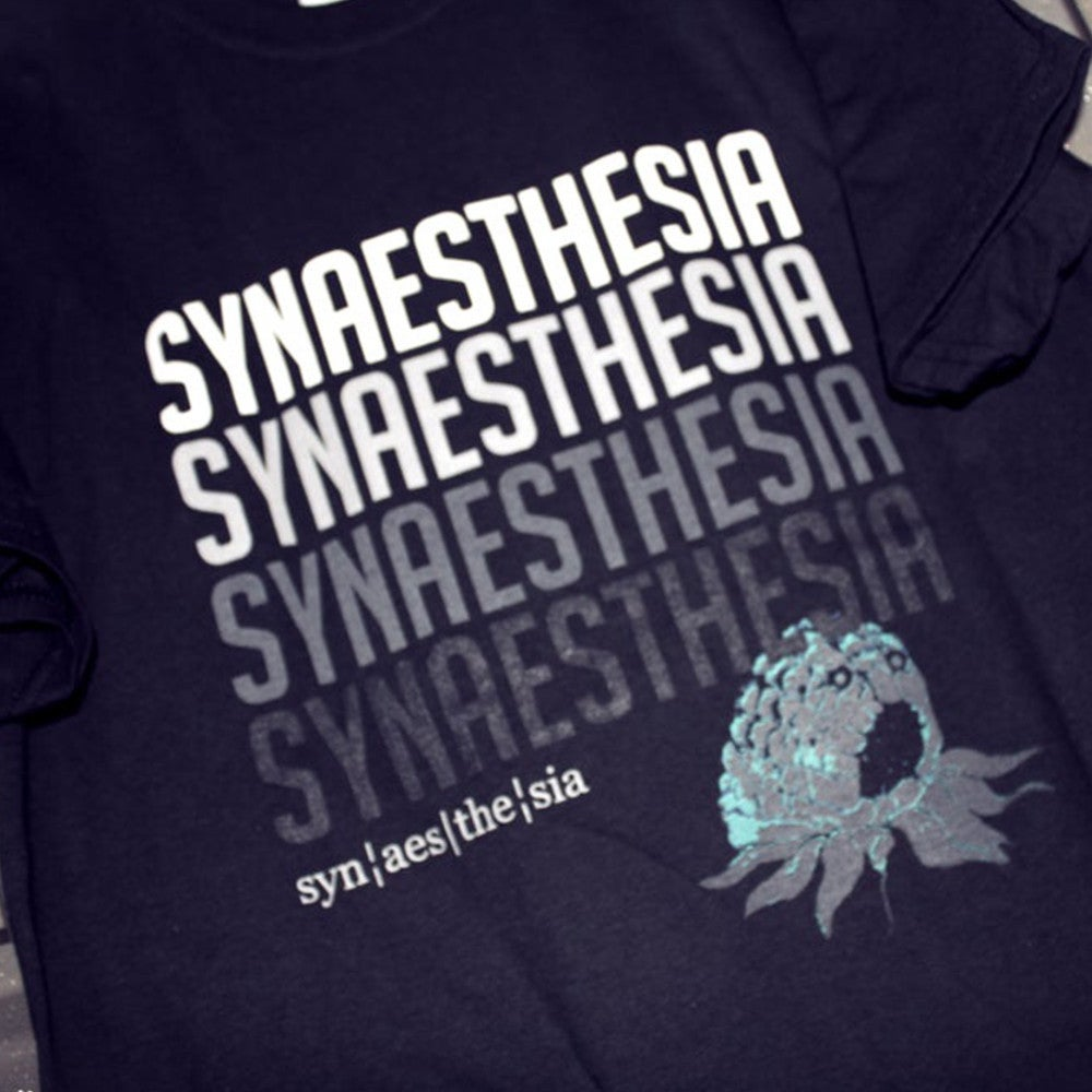 Image of Synaesthesia Font T-Shirt LIMITED EDITION