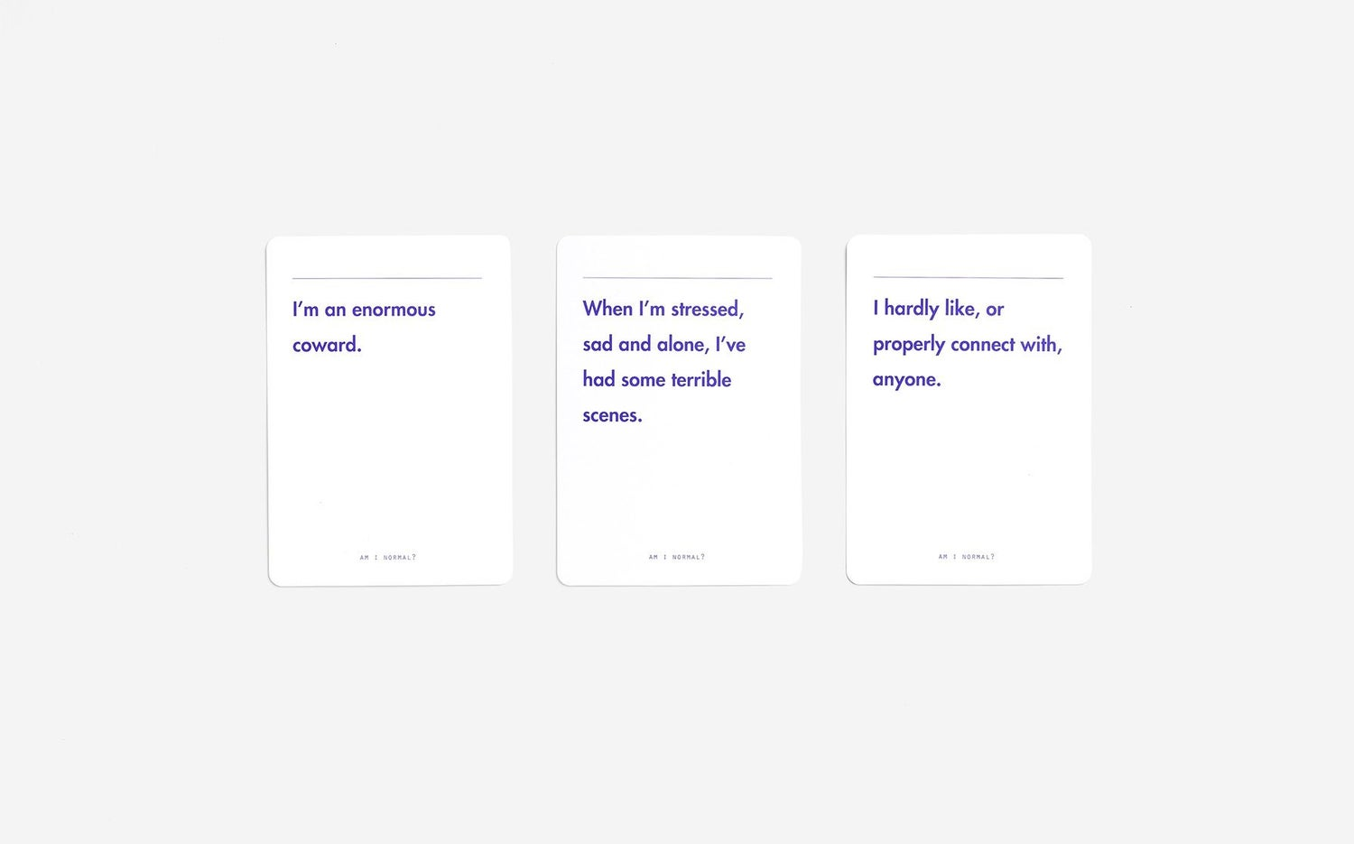 Image of Am I Normal? Card Game